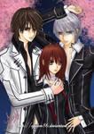 Vampire Knight - Under Sakura