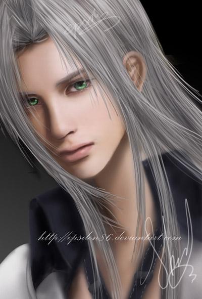 FF VII - Sephiroth by Epsilon86