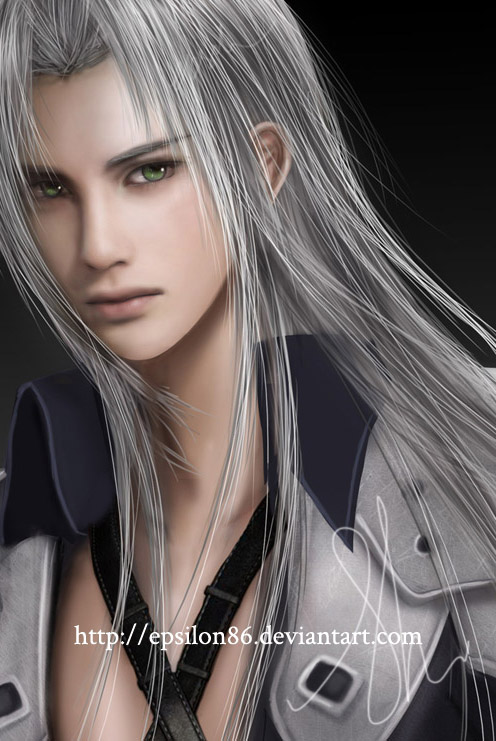 FFVII - Sephiroth by Epsilon86