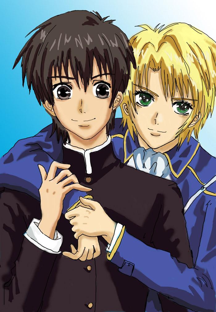 Yuri and Wolfram by Epsilon86