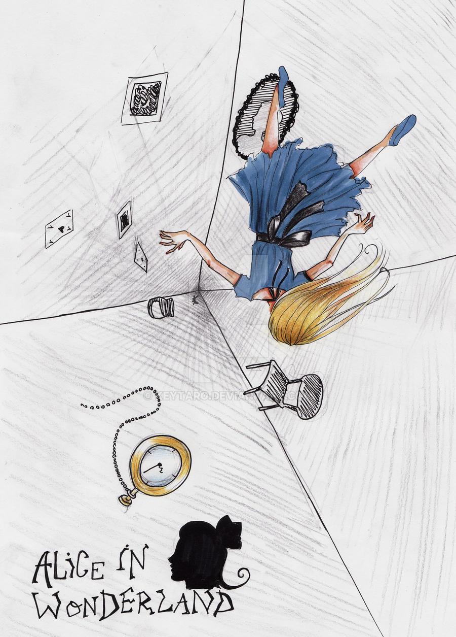 Falling Down The Rabbit Hole By Keytaro