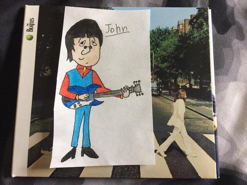 Beatles Cartoon John Lennon By Sneakingshashi On Deviantart