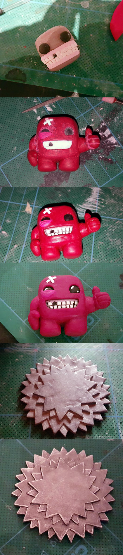 Super Meat Boy step by step by GuenhyKitten