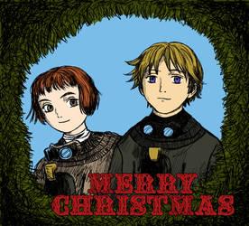 Last Exile Christmas Card
