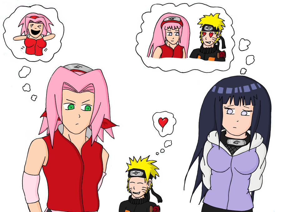 Sakura And Hinata Almo...