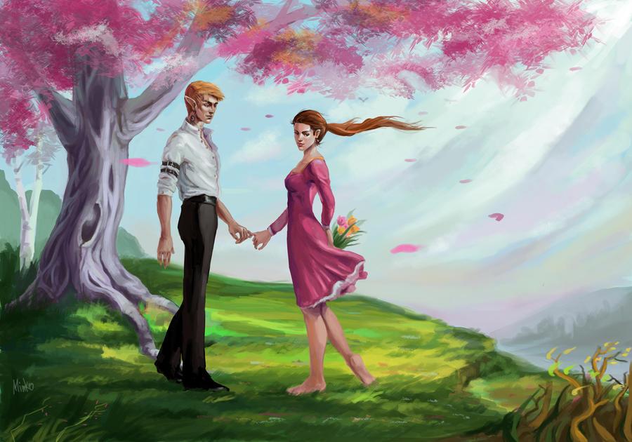 Wind in your hair by OlenaMinko