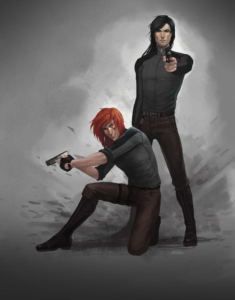 Alex and Gabriel by OlenaMinko