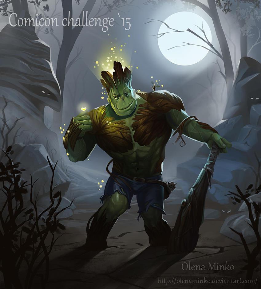 Hulk-Groot by OlenaMinko