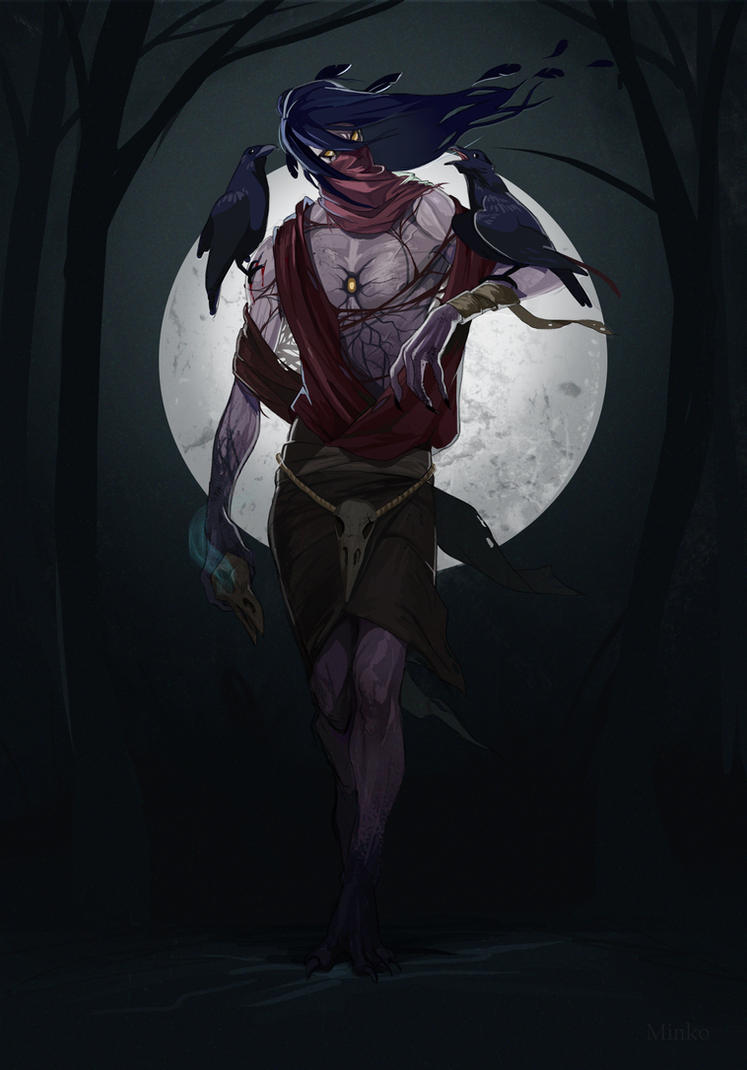 Raven master by OlenaMinko