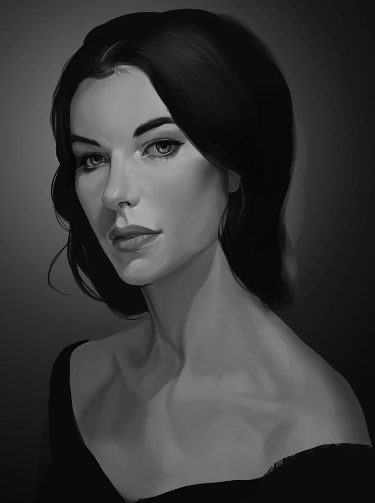 Portrait by OlenaMinko