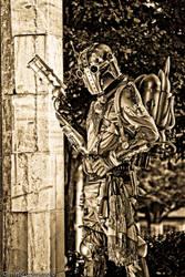 Steampunk Boba Fett - II by DimHorizonStudio