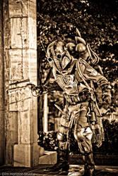 Steampunk Boba Fett - IV by DimHorizonStudio