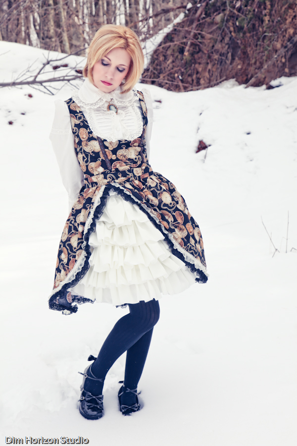 Lolita Steampunk Fusion - II by DimHorizonStudio