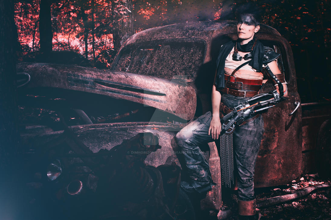 Imperator Furiosa Scrapping at Old Car USA - II by DimHorizonStudio
