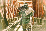 Raiders Investigating Sloss Furnace - II