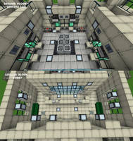 Zoo Tycoon 2 Lab - Minecraft Version - interiors by Gothic-Lycan on