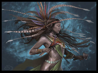 Dancer by omonteon