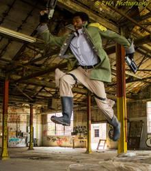 Sazh Katzroy leap