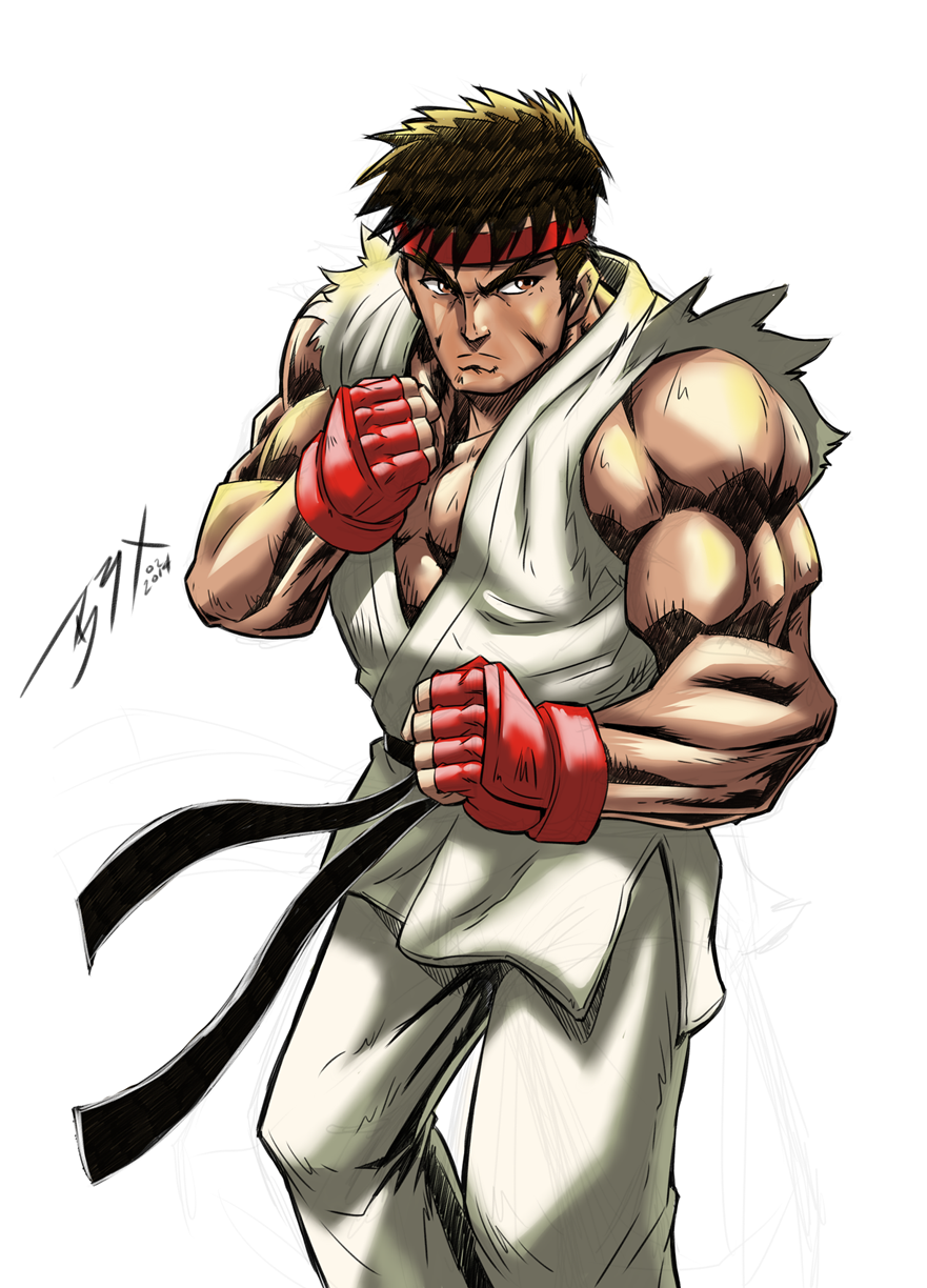 Street Fighter Ryu By Brianb3x On Deviantart