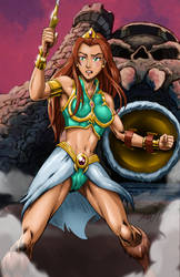 Masters of the Universe Teela by brianb3x