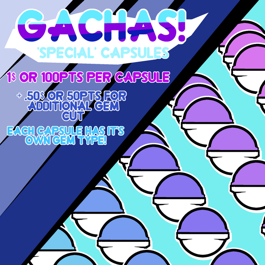 Special Chibi Gemsona Gachas - Open by cat-noises