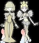 Cream and Biwa Pearl