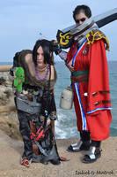 Lulu y Auron Cosplay (Final Fantasy X) by IsilielCosplay
