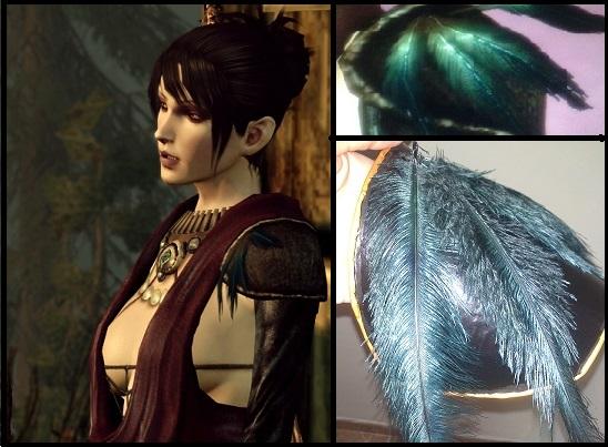 Morrigan From Dragon Age Origins Shoulder Pad By