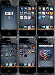 iPhone 4 new theme