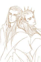 Celeborn and Thranduil