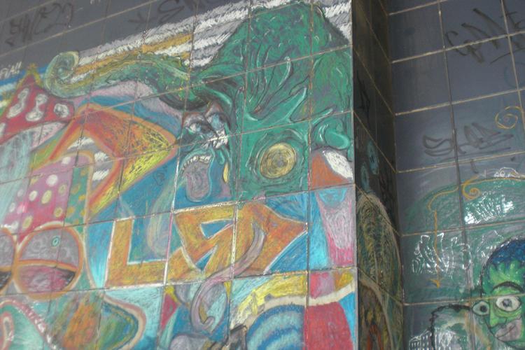 O Mural Antonio Arroio by KonCookie