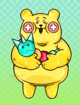 Cookie Run Jolly Bear Jelly