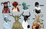 Tieflings of the 8 Realms [DnD 3.5e Homebrew]