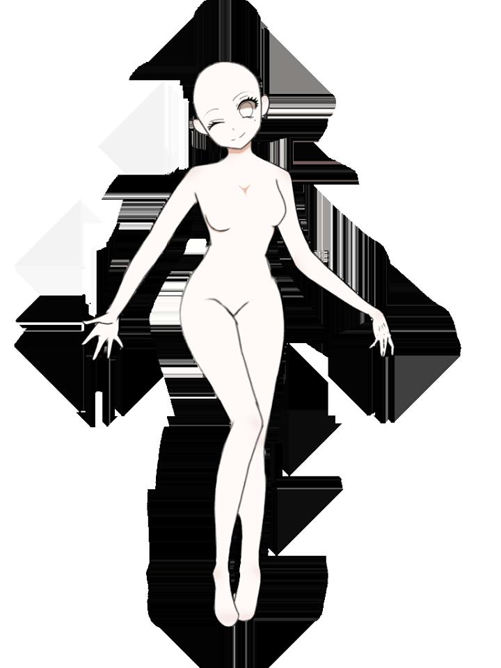 Anime girl base by NadaNedo