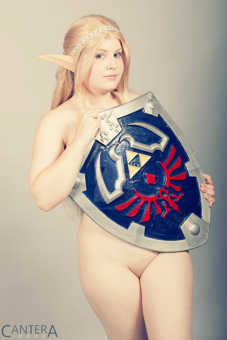 Nude Zelda by CanteraImage