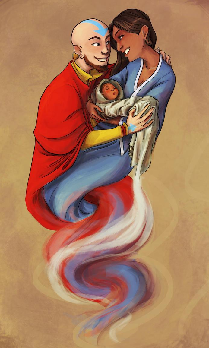 Kya's birth by Masthya