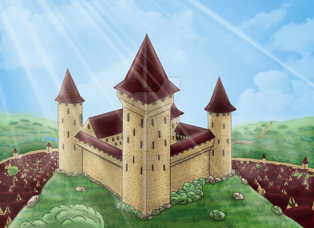 Castle of Araluna by Sombreval