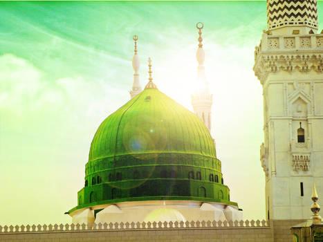 Masjid e Nabwi Dream Theme