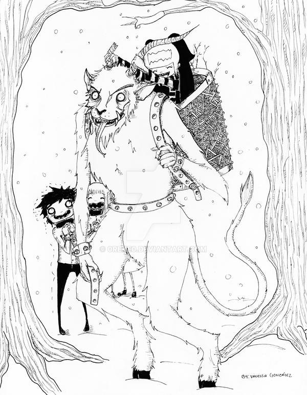 Lexa y Krampus by 0Reke0