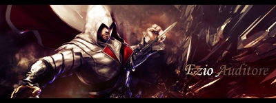 Ezio Auditore - Signature