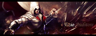 Ezio Auditore - Signature by hahisaki