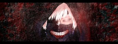 Ken Kaneki - Tokyo Ghoul Signature by hahisaki