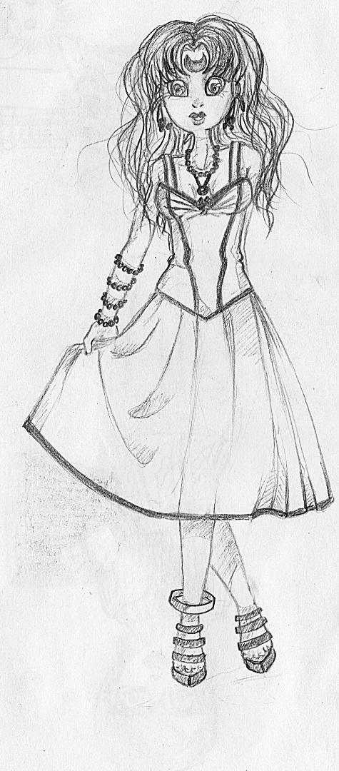 Lady Luna by Mari-etsu