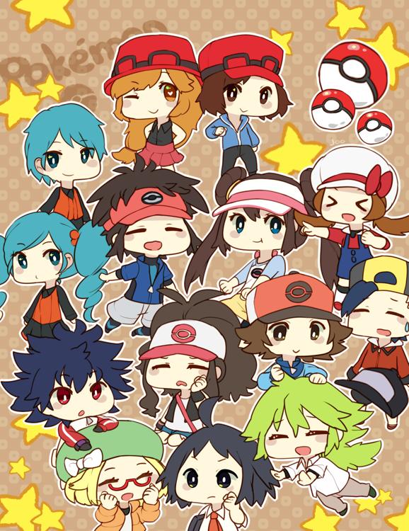 Pokemon by Juupion