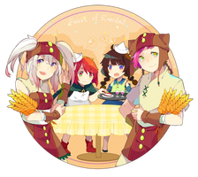 Feast of Evenfall by Juupion