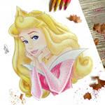 Disney Sleeping Beauty Aurora Drawing