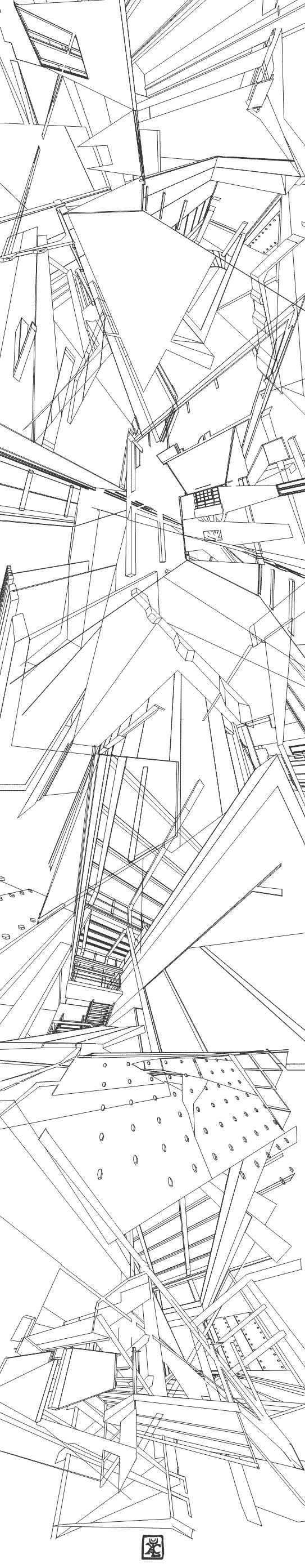 Architectural Deconstruction by KatayClysm