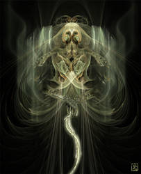 Fractal Warrior by KatayClysm