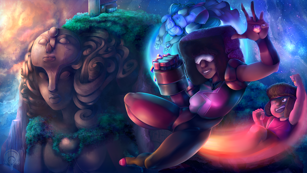 Square mom! I love her so much ;w;  I had a vote over on my twitter on who you guys wanted to see next from the SU universe and Garnet was the winner   Enjoy! Critiques accepted and highl...
