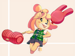 Challenger Isabelle Approaches !